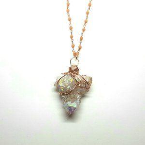 Angel Aura CloudAngel Crystal Necklace
